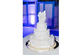 Wedding cake for Capri wedding