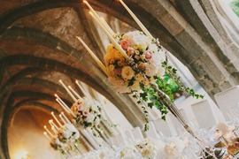 Tablescape of a Ravello wedding