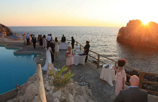 Capri Wedding Reception Lighthouse Beach Club