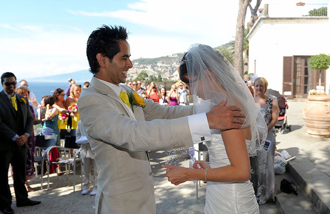 Civil wedding in Sorrento