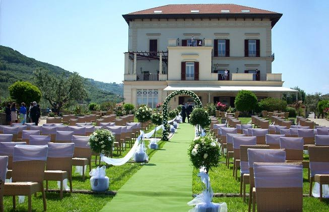 Villa for weddings in Sorrento