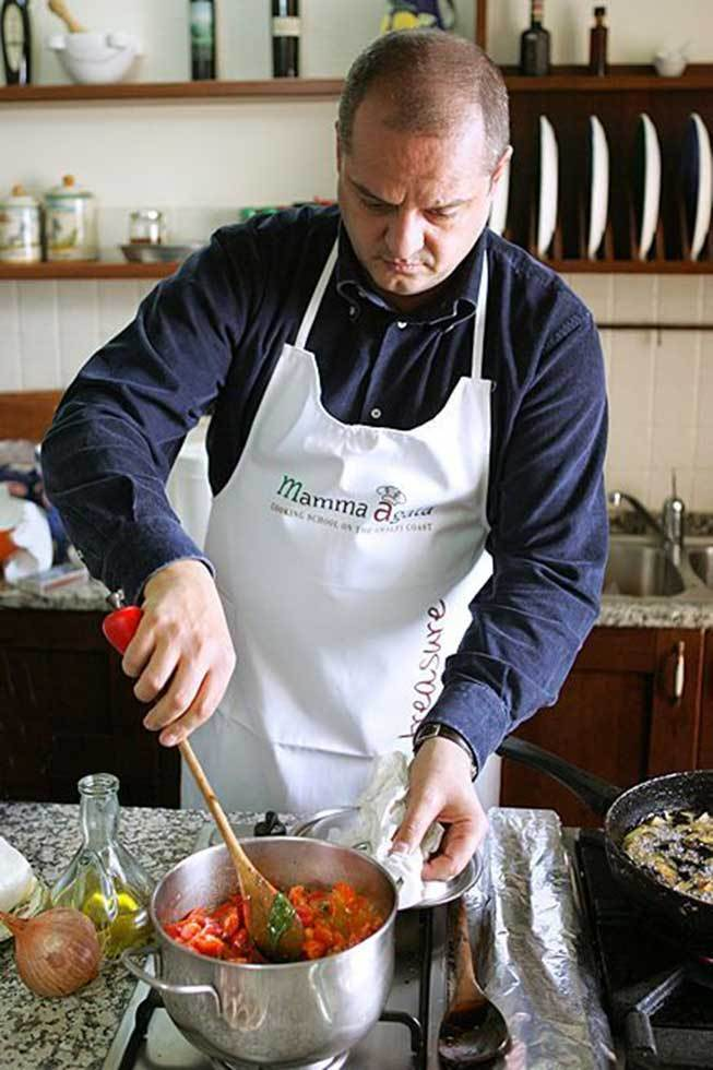 Cooking classes to learn traditional Italian recipes