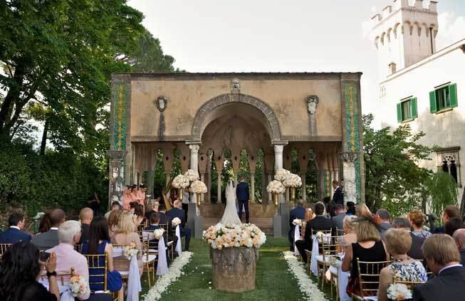 Symbolic Wedding in Ravello