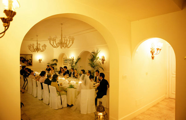 Capri Wedding Reception Contemporary Hotel