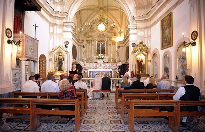 Catholic wedding ceremony in amalfi italy catholic wedding in amalfi junglespirit Choice Image