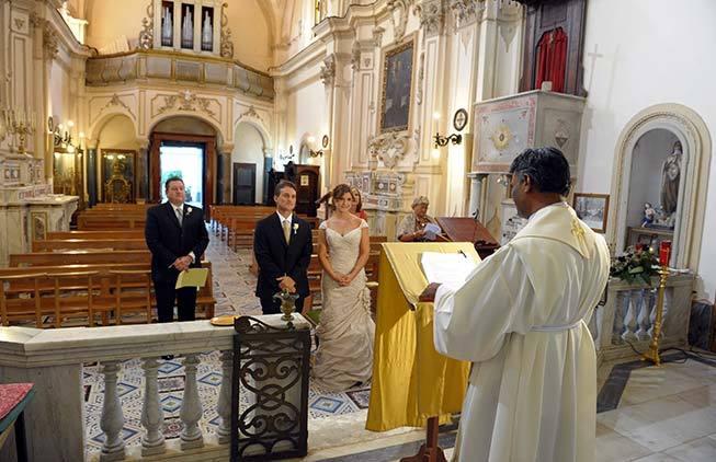 Catholic wedding ceremony in amalfi italy catholic wedding in amalfi junglespirit Gallery