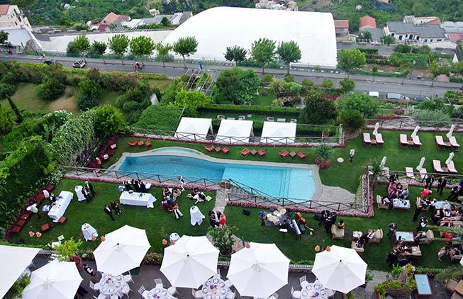 Ravello weddings palace hotel amalfi italy for Hotels in ravello with swimming pool