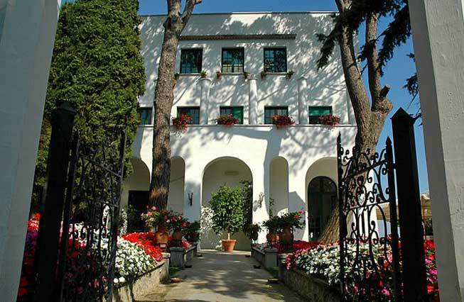 Ravello Reception Mediterranean Villa