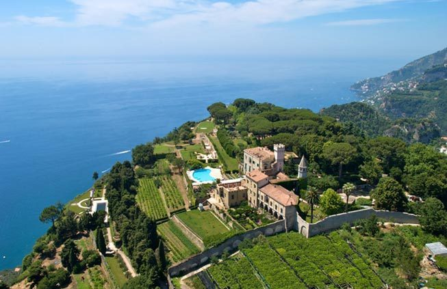 exclusive villa in Ravello