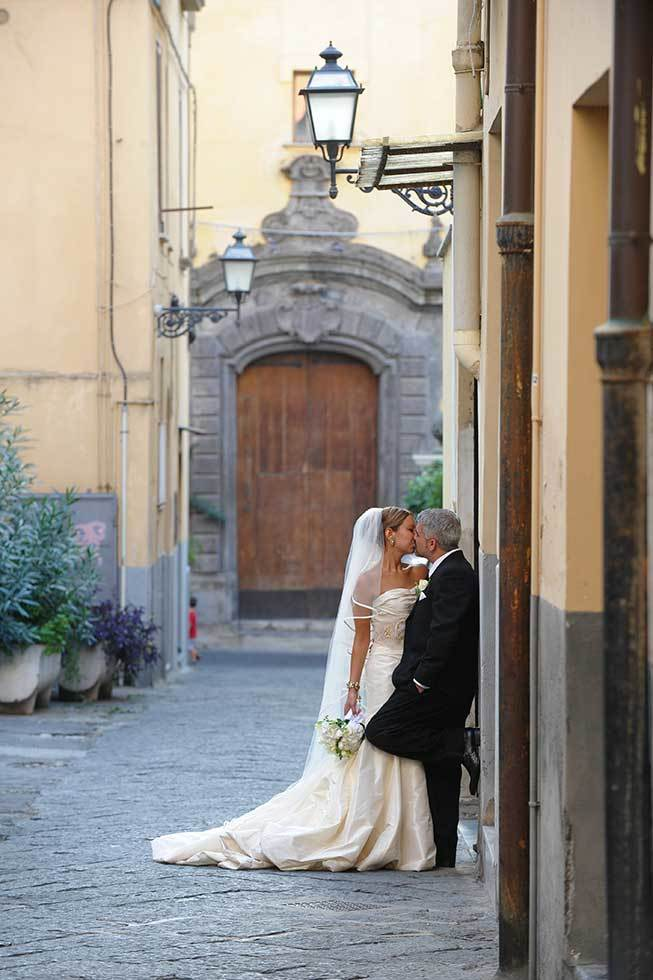 Romantic wedding in Sorrento