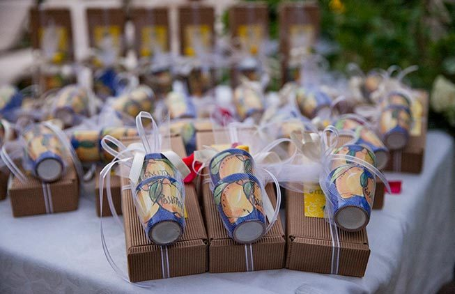 Positano wedding favors