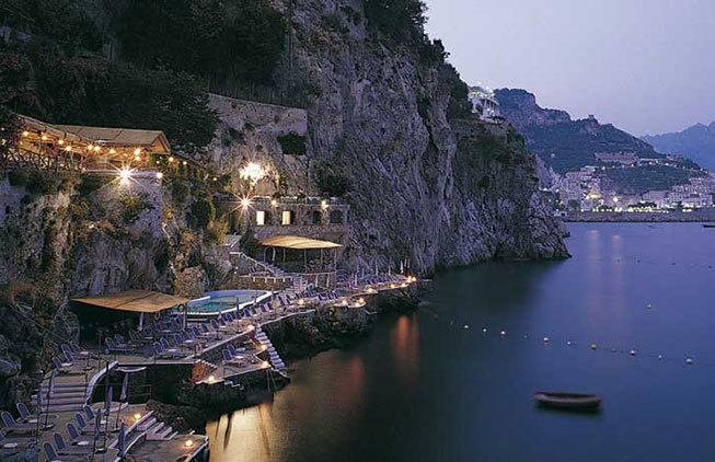Luxury hotel in Amalfi