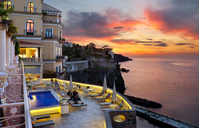 Romantic Hotel in Sorrento