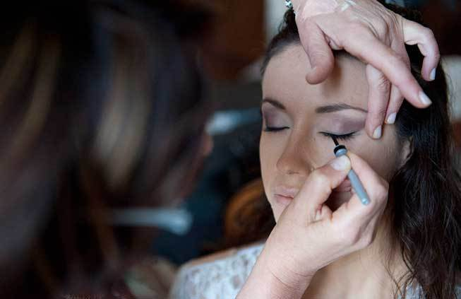 Beauty services for weddings