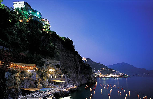 Amalfi luxury hotel