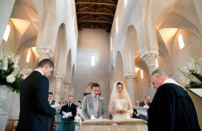 protestant wedding in Ravello