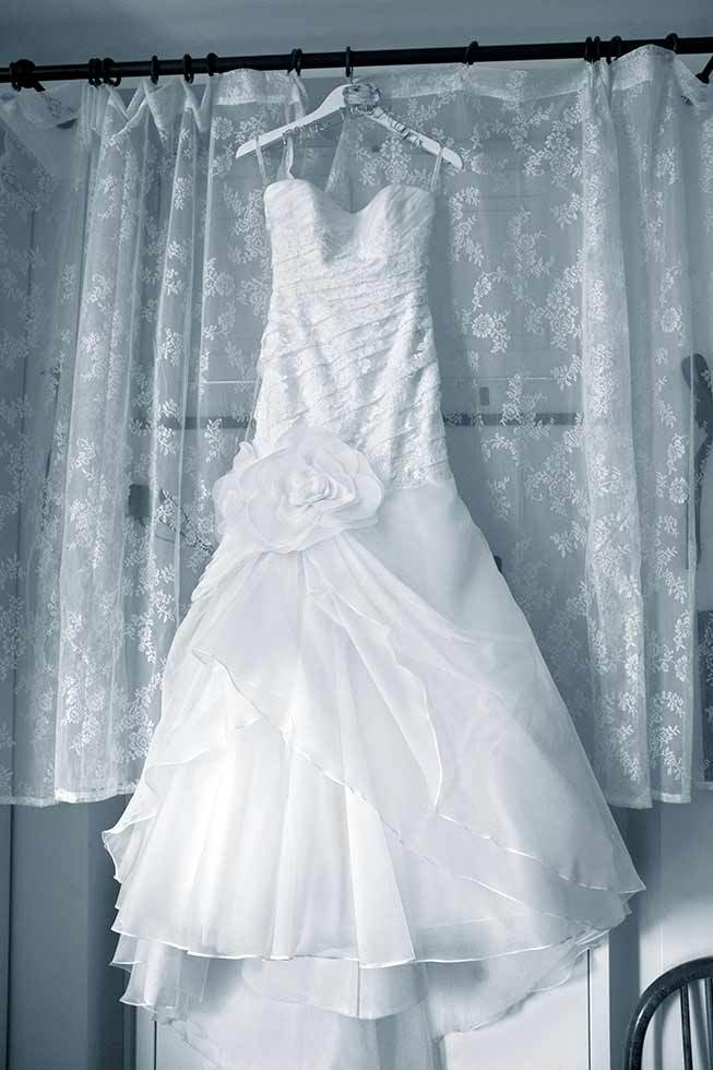 Bridal gown for Sorrento wedding