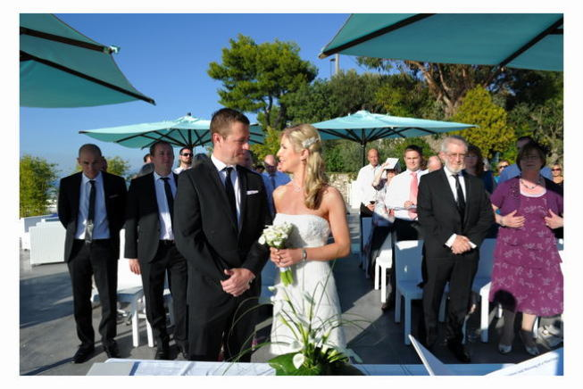 protestant wedding in Sorrento