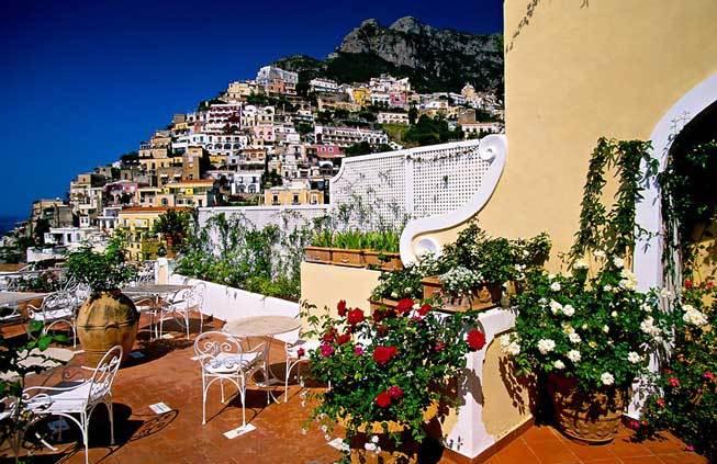 Weddings in positano amalfi coast italy for Hotel luxury amalfi