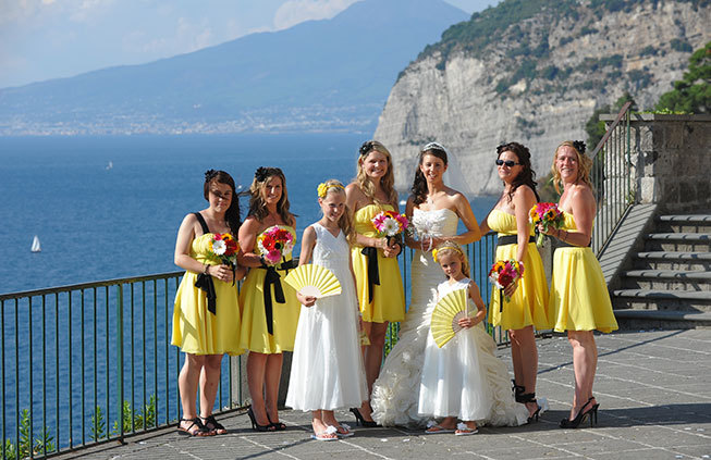 Sorrento civil wedding