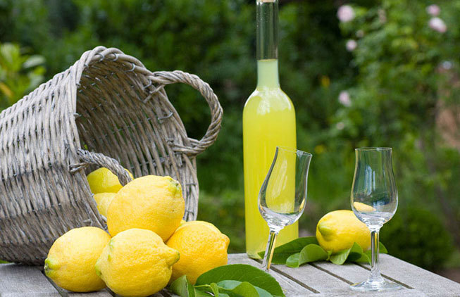 Activities: limoncello tasting