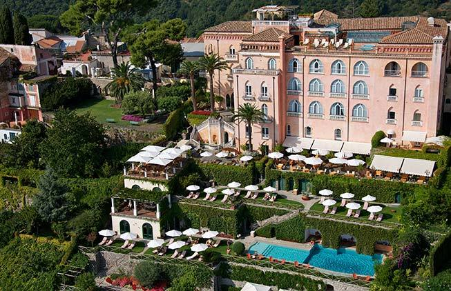 Palace hotel in Ravello