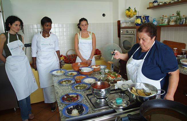 Activities: cooking classes