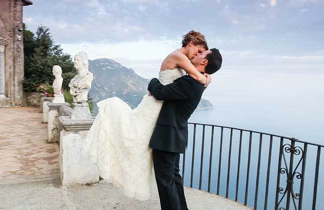 Where To Get Married In Italy: Katie & James Get Married In Ravello