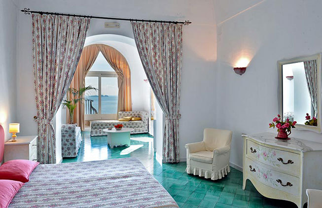 Accommodation in Positano