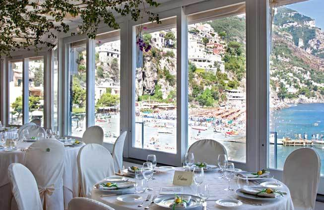 fisherman's manor in Positano