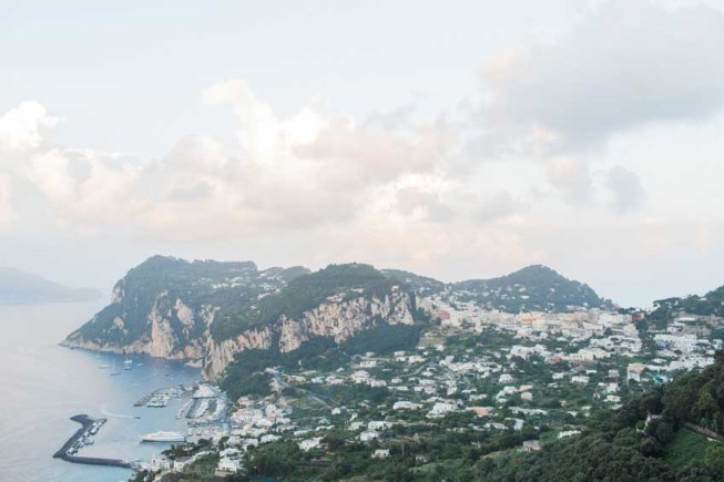 Panorama of Capri