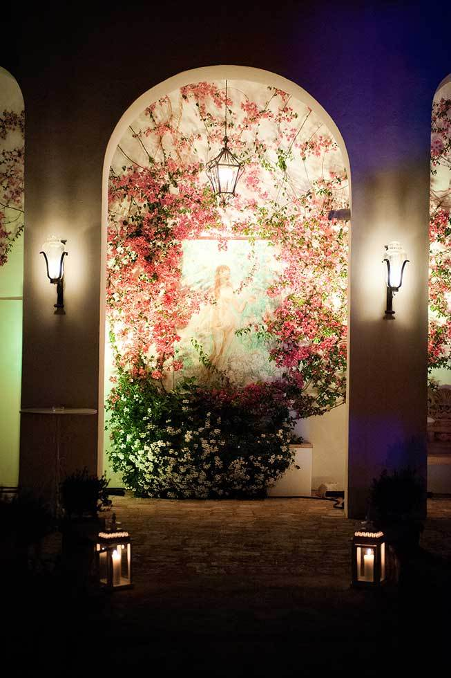 Spectacular lighting for Ravello weddings