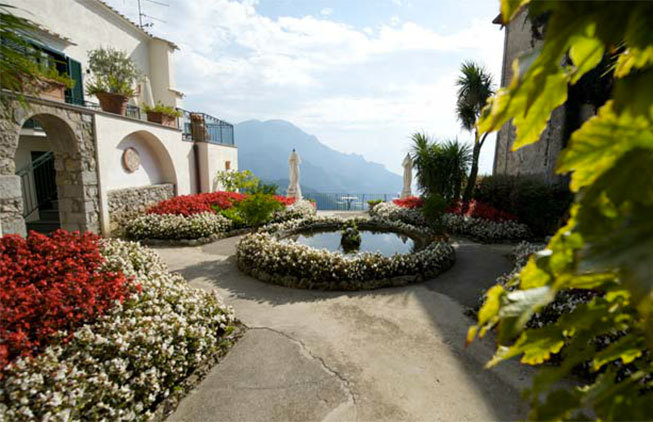 Antique monastery in Ravello
