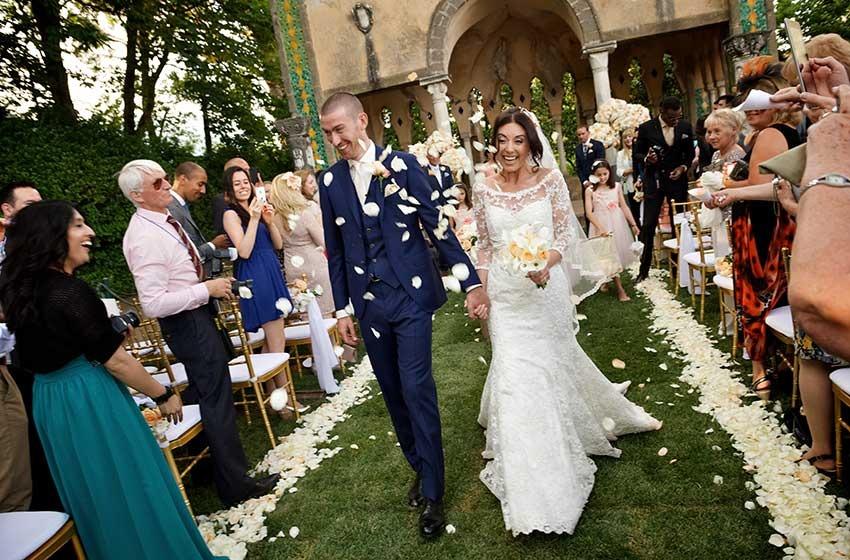 Weddings On The Amalfi Coast Ravello Positano Soro Capri